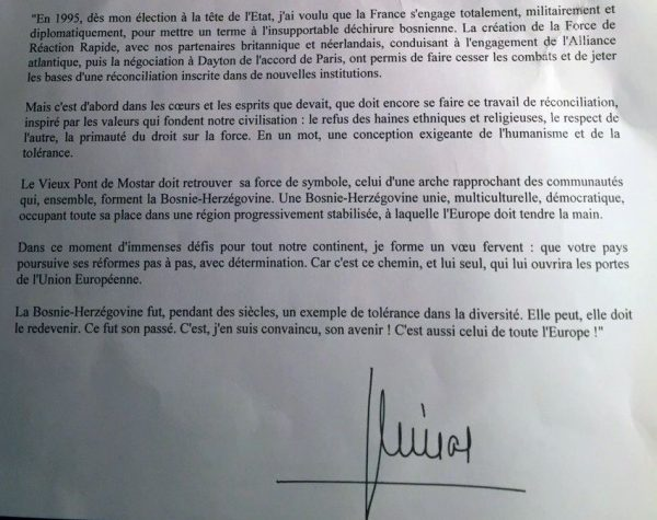 pismo jacquesa chiraca